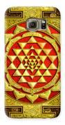 Sri Lakshmi Yantra Galaxy S6 Case by Lila Shravani