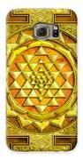 Sri Yantra Gold Stone Galaxy S6 Case