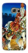 St Nicholas And Dark Peter Galaxy S6 Case by Lynette Yencho