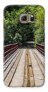 Standing On A Bridge Galaxy S6 Case by Jason Brow