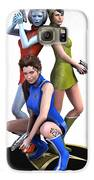 Star Trek - Kirks Angels Galaxy S6 Case by Frederico Borges