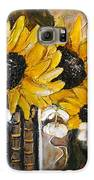 Sun Flowers Galaxy S6 Case by Elena  Constantinescu