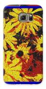 Sunflowers In The Park Galaxy S6 Case by Lewanda Laboy