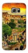 Sunset In Rome Galaxy S6 Case