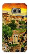 Sunset In Rome Galaxy S6 Case by Stefano Senise