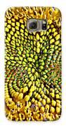 Swirling Sunflower Bloom Galaxy S6 Case by Kim Galluzzo Wozniak