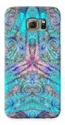 Teal Starfish Galaxy S6 Case by Derek Gedney