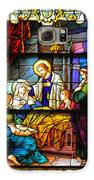 The Death Of St Monica St Augustine Galaxy S6 Case by Christine Till