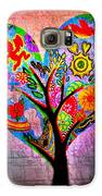 The Happy Tree Galaxy S6 Case by Denisse Del Mar Guevara