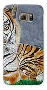 The Tiger Galaxy S6 Case by Barbara Pelizzoli
