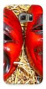 Two Masks Galaxy S6 Case by Borislav Marinic