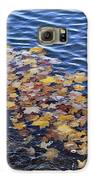 Wave Of Fall Leaves Galaxy S6 Case
