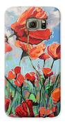 Whispering Poppies Galaxy S6 Case by Andrei Attila Mezei