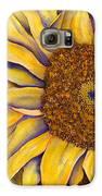 Yellow Sunflower Galaxy S6 Case by Diane Ferron