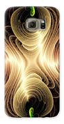 Caribbean Wave - The Beauty Of Simple Fractals Galaxy S6 Case by Vidka Art