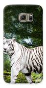 White Bengal Galaxy S6 Case by Elizabeth Hart
