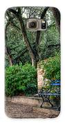 White Point Gardens Bench Galaxy S6 Case by Jenny Ellen Photography
