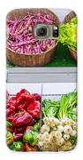 Fruits And Vegetables On A Supermarket Shelf Galaxy S6 Case by Deyan Georgiev