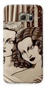 Arielle And Gabrielle In Sepia Tone Galaxy S6 Case