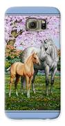 Spring's Gift - Mare And Foal Galaxy S6 Case by Crista Forest