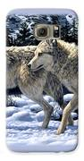 Wolves - Unfamiliar Territory Galaxy S6 Case by Crista Forest