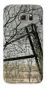 At The End...fence Post Galaxy S6 Case by Stephanie Calhoun