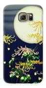 Autumn Chrysanthemums 4 Galaxy S6 Case by GuoJun Pan