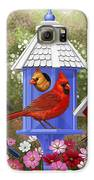 Bird Painting - Primary Colors Galaxy S6 Case by Crista Forest