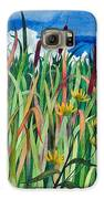 Cattails Galaxy S6 Case by Helen Klebesadel