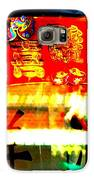 Chinatown Window Reflection 4 Galaxy S6 Case by Marianne Dow