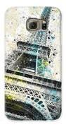 City-art Paris Eiffel Tower Iv Galaxy S6 Case by Melanie Viola