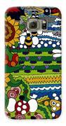 Cowbirds Galaxy S6 Case by Rojax Art