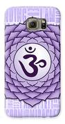 Crown Chakra - Awareness Galaxy S6 Case