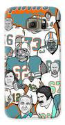 Dolphins Ring Of Honor Galaxy S6 Case by Gary Niles
