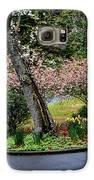 Downhill Landscape Scene Galaxy S6 Case by Eva Thomas