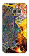 Electromagnetic Lighthouse Thirdeye Portal Galaxy S6 Case by Joseph Mosley