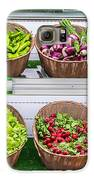 Fruits And Vegetables On A Supermarket Shelf Galaxy S6 Case