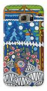 Golden Gate Bridge Galaxy S6 Case by Rojax Art