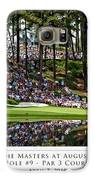 Green Reflections Par 3 Hole 9 Galaxy S6 Case by Barry C Donovan