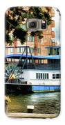 Harbor Park Ferry 5 Galaxy S6 Case by Lanjee Chee
