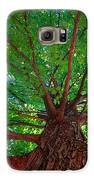 Her Leafy Arms Galaxy S6 Case by Guy Ricketts