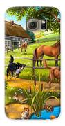 House Animals Galaxy S6 Case by Anne Wertheim