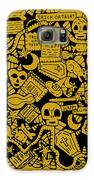 Just Halloweeny Things V5 Galaxy S6 Case by Chelsea Geldean