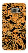 Just Halloweeny Things V7 Galaxy S6 Case by Chelsea Geldean