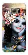 Krishna-sky Boy Galaxy S6 Case by Lila Shravani