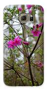 Lovely Bright Pink Flowers Galaxy S6 Case by Eva Thomas