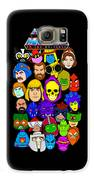Masters Of The Universe Collage Galaxy S6 Case