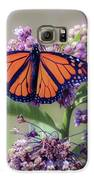 Monarch On The Milkweed Galaxy S6 Case