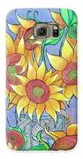 More Sunflowers Galaxy S6 Case by Loretta Nash