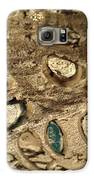 My Textured Stones B Galaxy S6 Case by Sonya Wilson